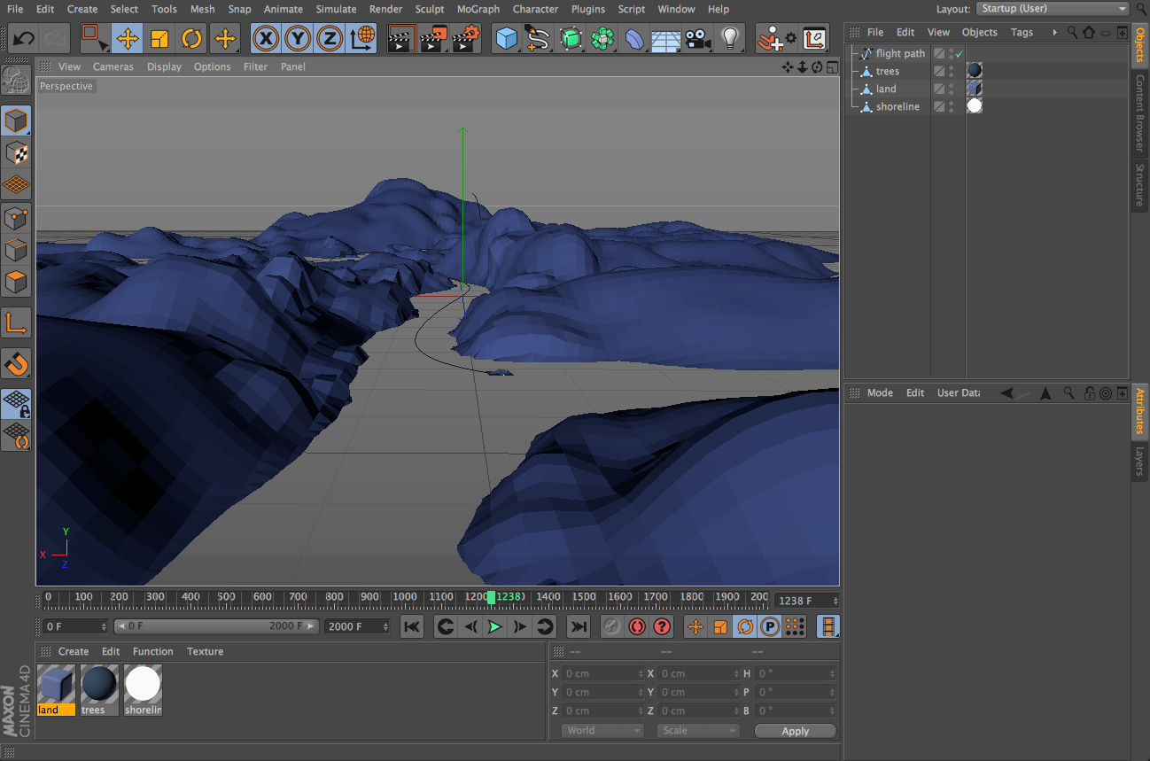 Making Sechelt With three js and Cinema 4D