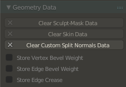 "Blender: ""Geometry Data"" settings: After"