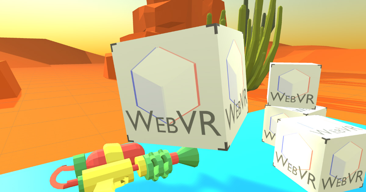 Create VR on the Web using Unity 3D