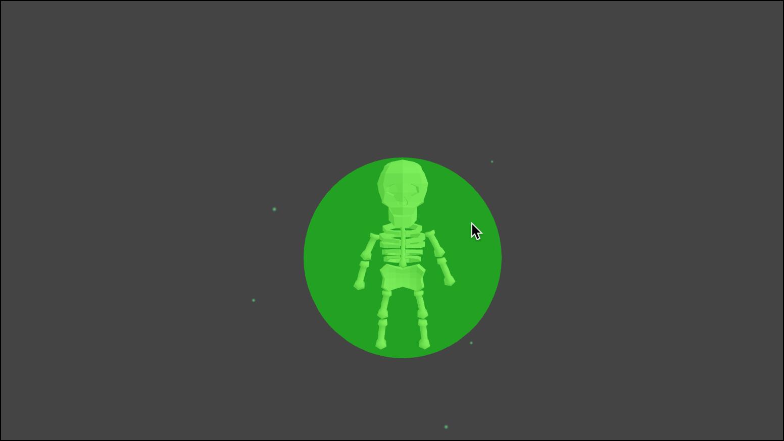 Skeleton in Trap