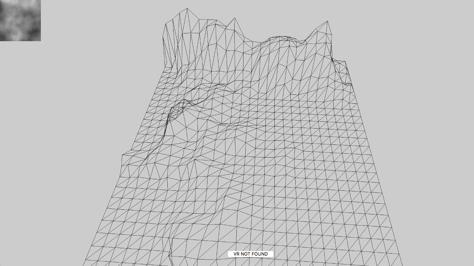 low poly style terrain generation