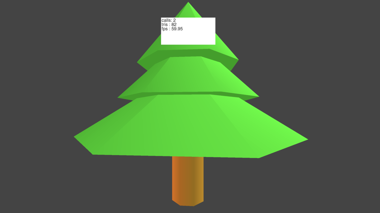 Tree with Vertex Colors