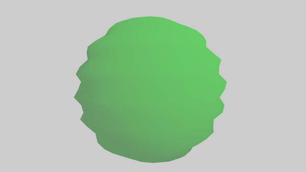 Wobble Sphere with Vertex Shaders