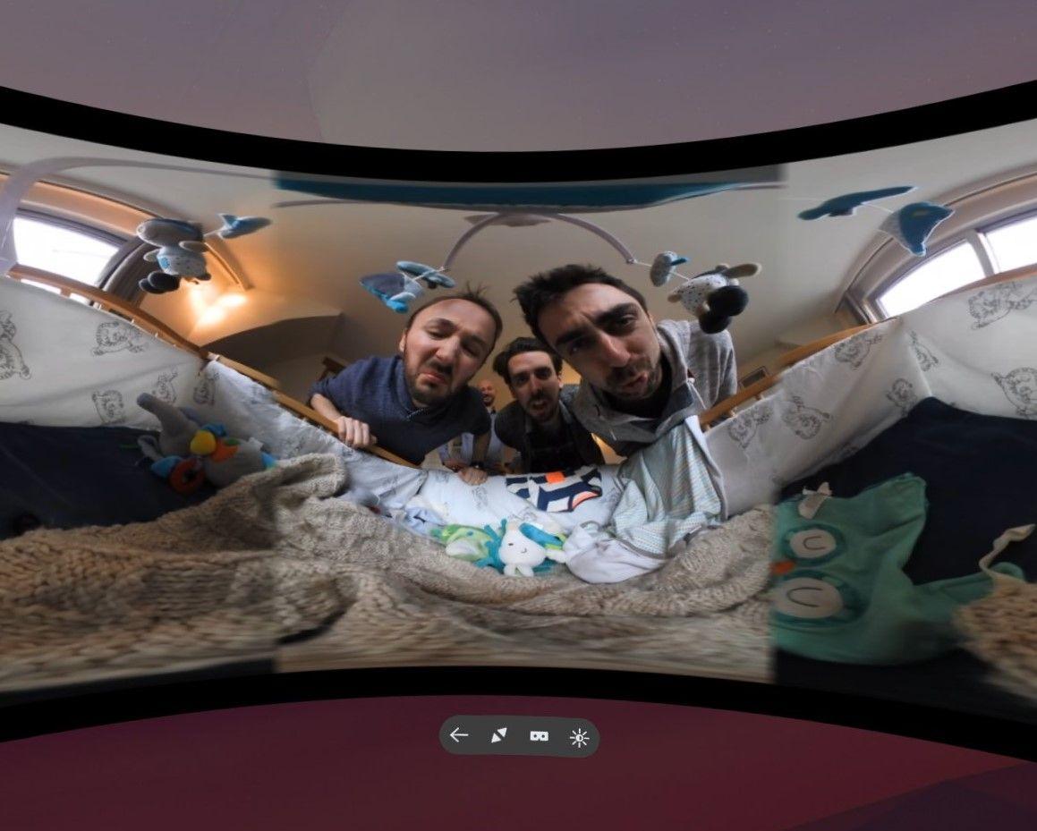 Bebe Moche Video shown in Firefox Reality