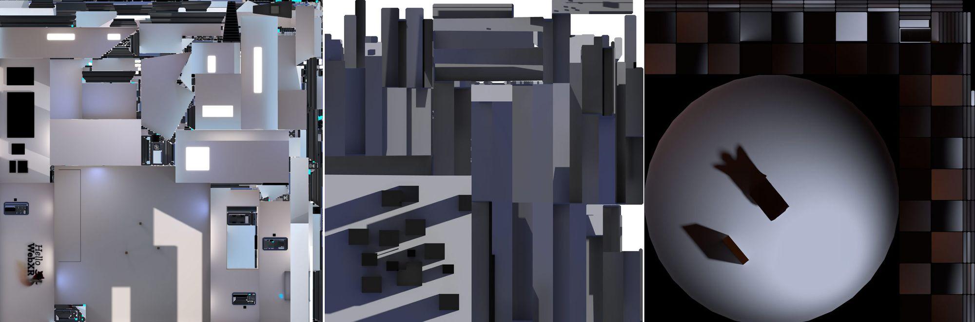 Visual Development in Hello WebXR!