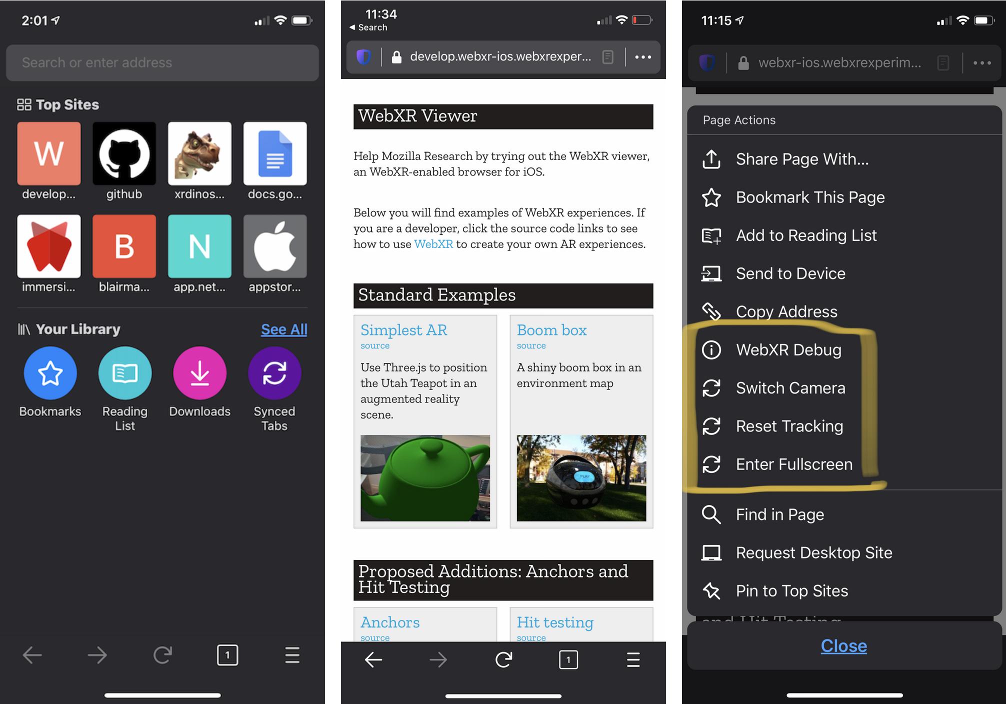 WebXR Viewer 2.0 Released