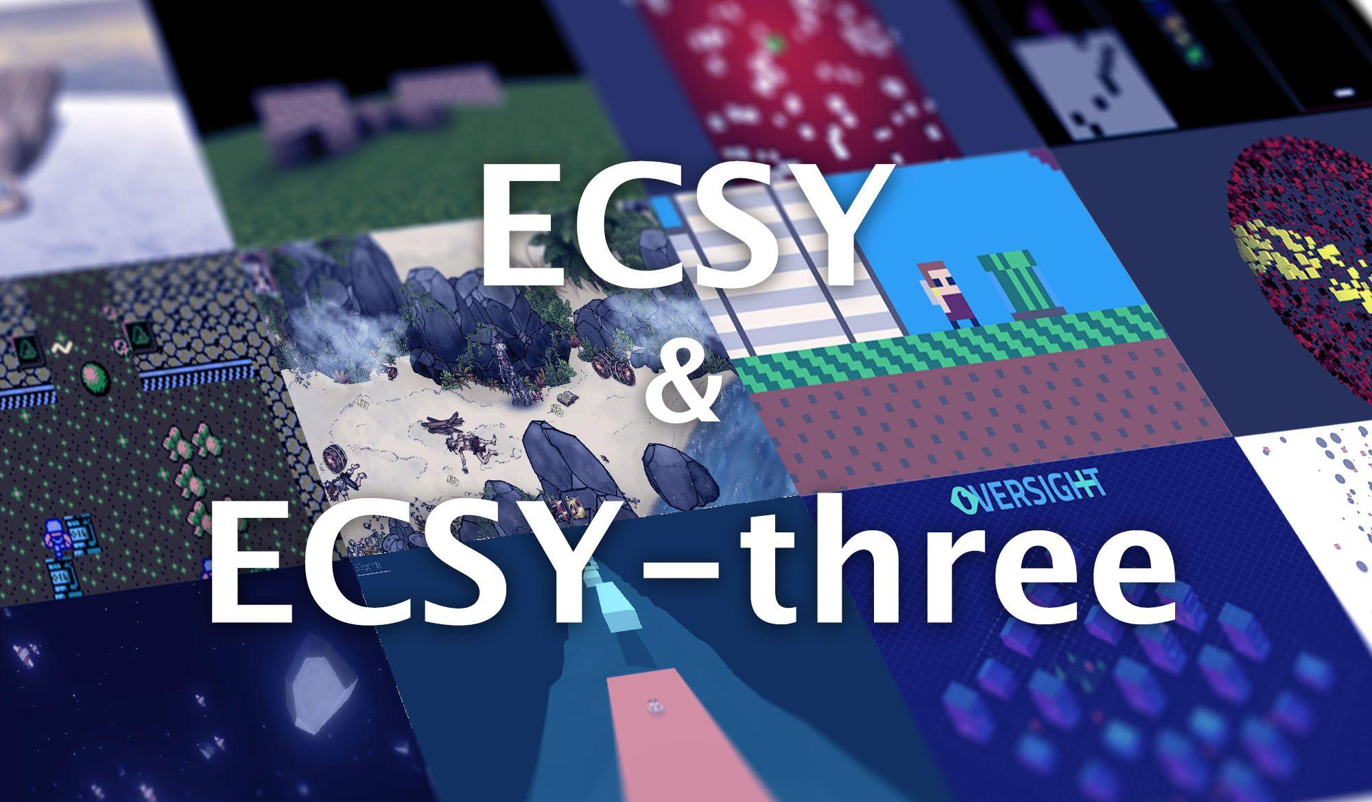 What's new in ECSY v0.4 and ECSY-THREE v0.1